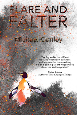 Michael Conley, Flare and Falter (Paperback Cover)