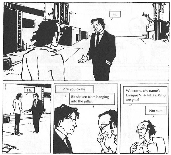 Nocilla Lab (Comic Strip Excerpt 1)