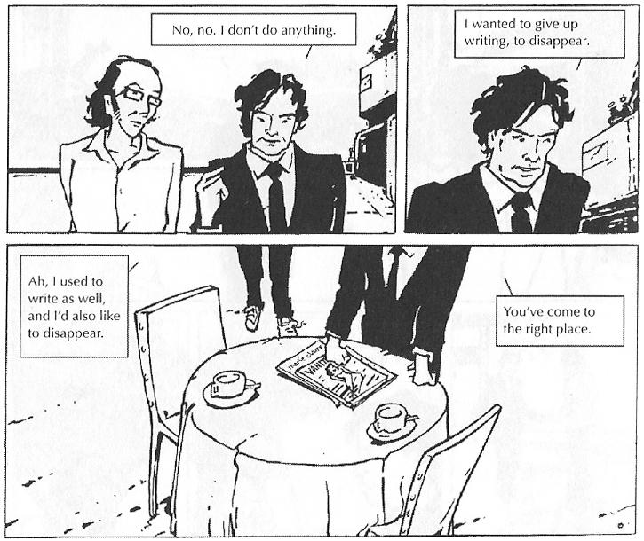 Nocilla Lab (Comic Strip Excerpt 2)